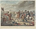 Zyne Koninklyke Hoogheid Willem Prins van Oranje in den roemrijken veldslag van Waterloo, op den 18den Junij 1815, gewond op het oogenblik der overwinning Son Altesse Royale Guillaume Prince d'Orange (..) (titel op objec, RP-P-OB-88.874.jpg