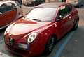 """14 - ITALY - Alfa Romeo MiTo QV - red coupé in Milan - Quadrifoglio Verde sports car 04 Carbon fibres.jpg"