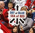 """Sky of Blue; Sea of Red"" Switzerland vs. Canada (4371459728).jpg"