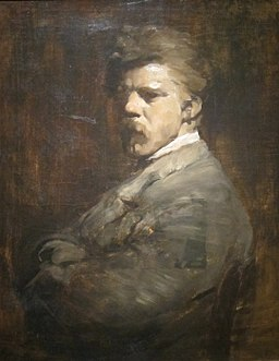 'Self-porrait' by Frank Duveneck, Cincinnati Art Museum