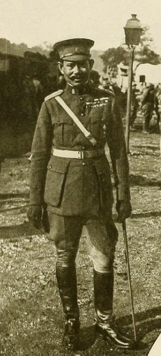 Siamese Expeditionary Forces - Image: (1919) pic 40 The Commander of the Siamese Troops in Europe