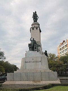 Monument to Castelar (Madrid)