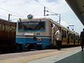 (Falaknuma - Lingampalli) MMTS Local at Secunderabad 01.jpg