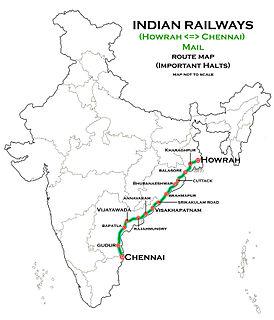 Howrah–Chennai main line