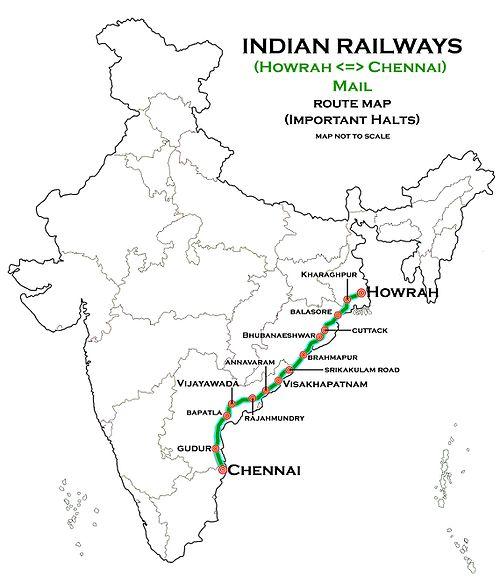 Howrah Chennai Mail