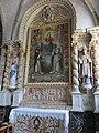 Église Saint-Quentin de Saint-Quentin-sur-le-Homme - Autel du Rosaire.JPG