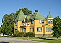 Östra Södermanlands Järnväg - station in Mariefred.JPG