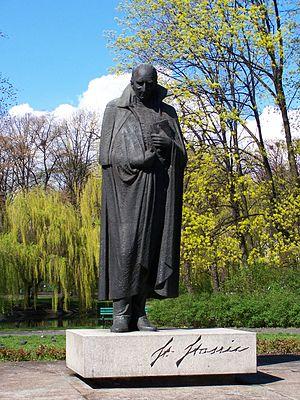 Stanisław Staszic - Statue of Staszic in Łódź