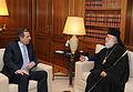 Αντώνης Σαμαράς - Συνάντηση με τον Πατριάρχη Αλεξανδρείας και πάσης Αφρικής κ.κ.Θεόδωρος Β΄7732345772.jpg