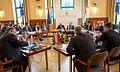 Συμμετοχή Αντιπροέδρου της Κυβέρνησης και ΥΠΕΞ Ευ. Βενιζέλου στην Υπουργική Συνάντηση Visegrad+3 (Bουδαπέστη, 24.02.2014) (12745695383).jpg
