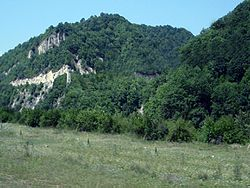 Hills in Shatoysky District