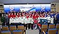 Вручение флага Суворова юнармейцам Москвы на форуме Служу России.jpg