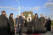 Встреча Патриарха Кирилла в Приднестровье