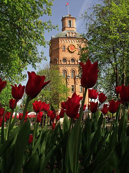 Водонапірна башта у Вінниці, © Вадим Постернак, CC-BY-SA 4.0