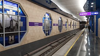 Dunayskaya (Saint Petersburg Metro) Saint Petersburg Metro Station