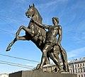 Клодтовы кони Аничков Мост 03.jpg