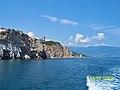 Крым. Вид с моря на Ласточкино гнездо. - panoramio.jpg