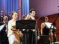 Михаил Антоненко и Юлия Лежнева на концерте Моцарт-гала в Москве 3.jpg