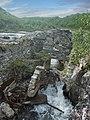 Остатки старой ГЭС на р. Титовка. Постройка 1948г. - panoramio (1).jpg