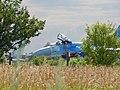 Польоти на бойових та учбово-бойових літаках-винищувачах Су-27, а також на учбово-тренувальних літаках Л-39 (29531871058).jpg