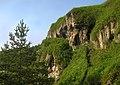 Рукомиські травертинові скелі, Рукомиш.jpg