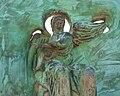 Скулптура Белог Анђела у порти манастира Милешева, 01.jpg