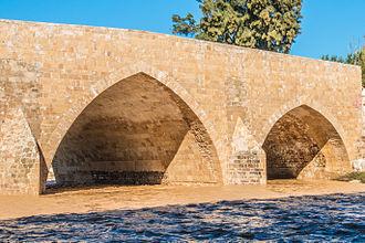 Ad Halom - Image: גשר עד הלום לאחר סערות החורף