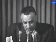 Fil: خطاب تنحي الرئيس جمال عبد الناصر بعد النكسة. Webm