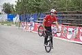 دوچرخه سواری بی ام ایکس در پارک ملت دزفول- عکاس-مصطفی معراجی Freestyle BMX is bicycle stunt, Iran-Dezfol 19.jpg