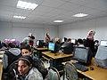 ورشة تدريبية عن الويكيبيديا في مدرسة البيان في الاردن3.JPG