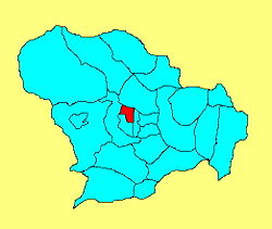 Location of Xinhua