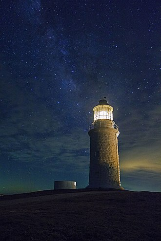 Dongquan Lighthouse - Dongquan Lighthouse at night