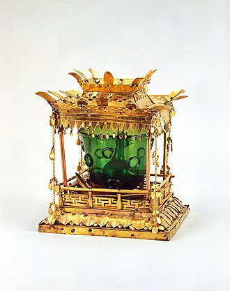 Daegu - Reliquary from 8th century Silla, Daegu National Museum