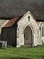 -2018-10-28 Porch of the Parish church of All Saints, Edingthorpe, Norfolk.JPG