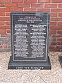 -2019-01-05 World War 1 100th Commemoration memorial, Beach Road, Mundesley (1).JPG