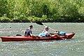 02018 0319 Kajaktour auf dem Sanfluss durch die Ost-Beskiden, Oberes Santal in Trepcza (Miedzybrodzie).jpg