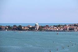 0 Venise, l'Île du Lido dans la lagune.JPG