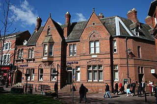 1–3 Churchyard Side, Nantwich District Bank, Nantwich, Cheshire, England