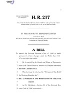 116th United States Congress H. R. 0000217 (1st session) - Permanent Tax Relief for Working Families Act.pdf