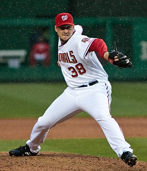Joel Hanrahan - Hanrahan pitching for the Washington Nationals in 2009