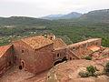 129 Santuari de la Mare de Déu de la Roca, des del camí de Sant Ramon.JPG