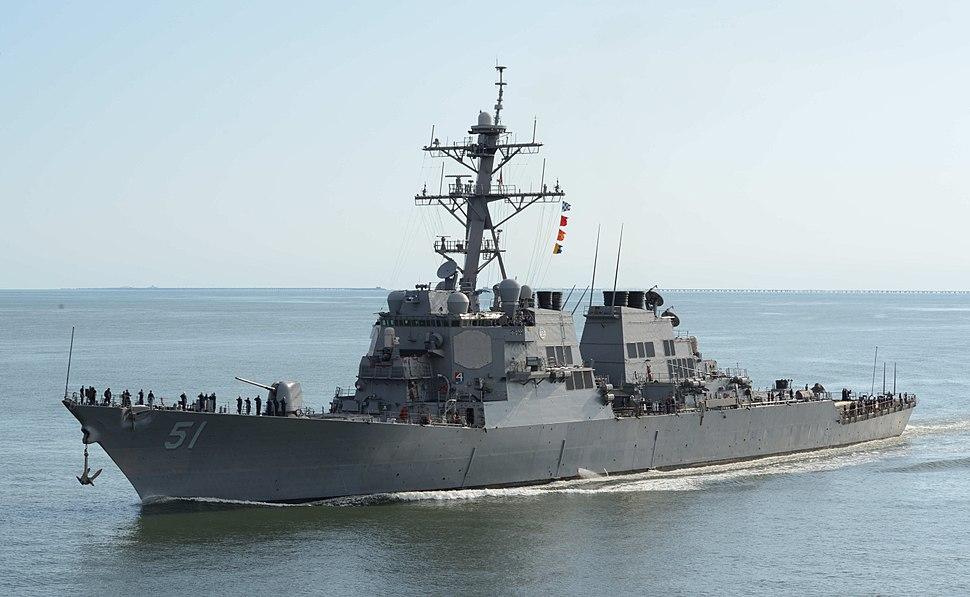 130920-N-NX070-025 - USS Arleigh Burke (DDG-51)