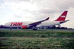 144fs - TAM Airbus A330-223, PT-MVC@CDG,10.08.2001 - Flickr - Aero Icarus.jpg