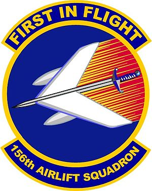 156th Airlift Squadron - Image: 156th Airlift Squadron emblem