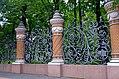 1608. . St. Petersburg. Fence of the Mikhailovsky Garden.jpg
