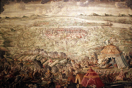 The relief of Vienna on 12 September 1683 - Battle of Vienna
