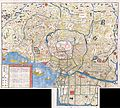 1849 Edo Period Japanese Woodcut Map of Edo or Tokyo Japan - Geographicus - Edo-japan-1849.jpg
