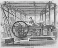 Harper & Brothers printing press, New York City, 1850s