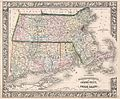1864 Mitchell Map of Massachusetts, Connecticut and Rhode Island - Geographicus - MACTRI-mitchell-1864.jpg