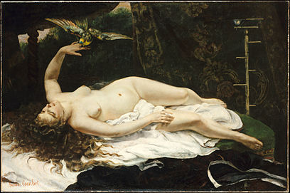 1866 Gustave Courbet - Woman with a Parrot.jpg